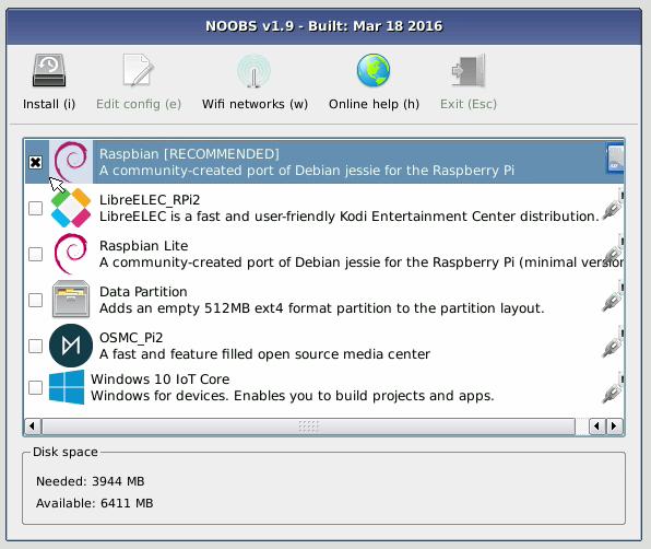 4 5 5  Raspberry PI 3 — Big Data Classes